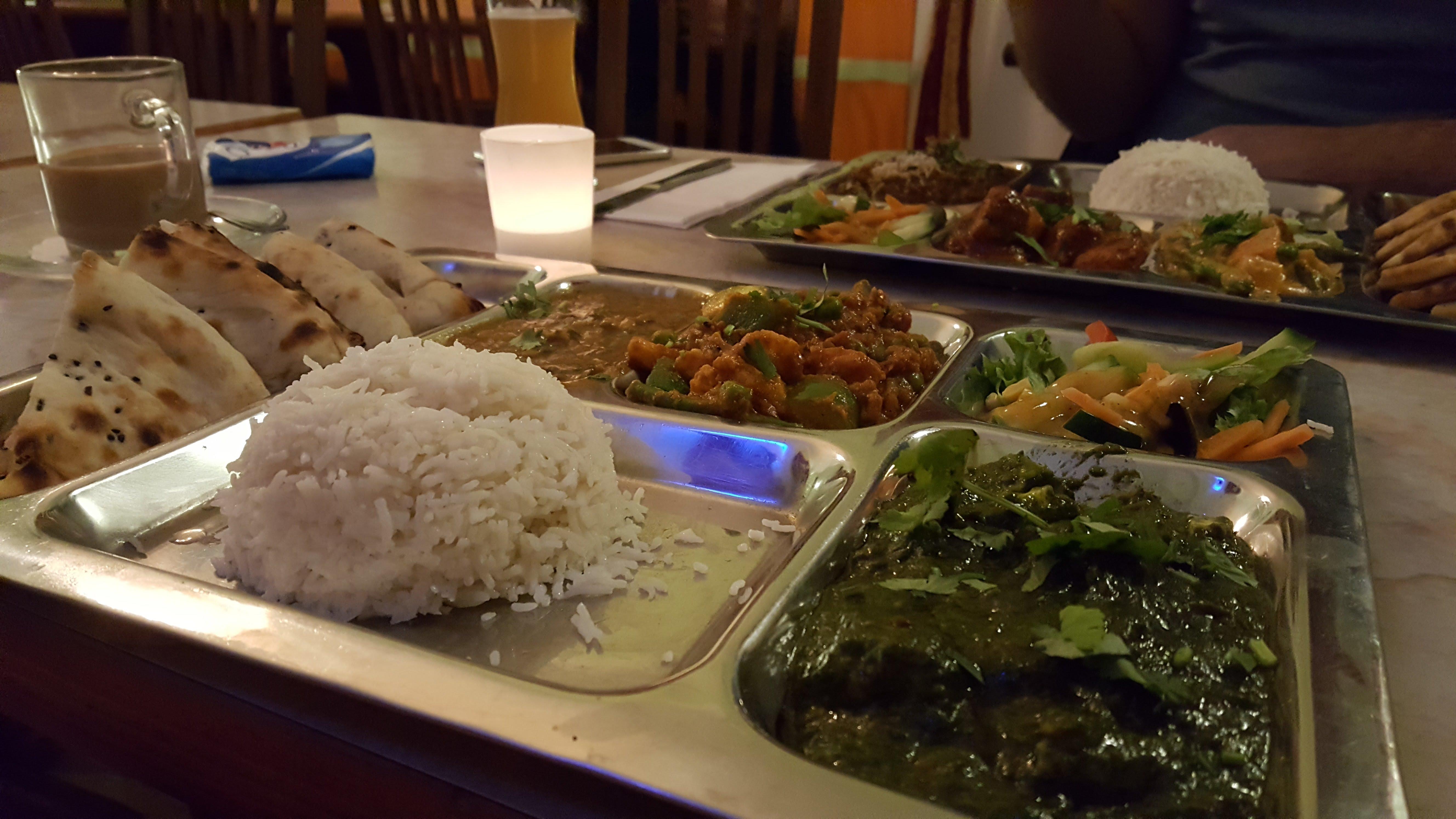 Vegetarische Curry Kombi