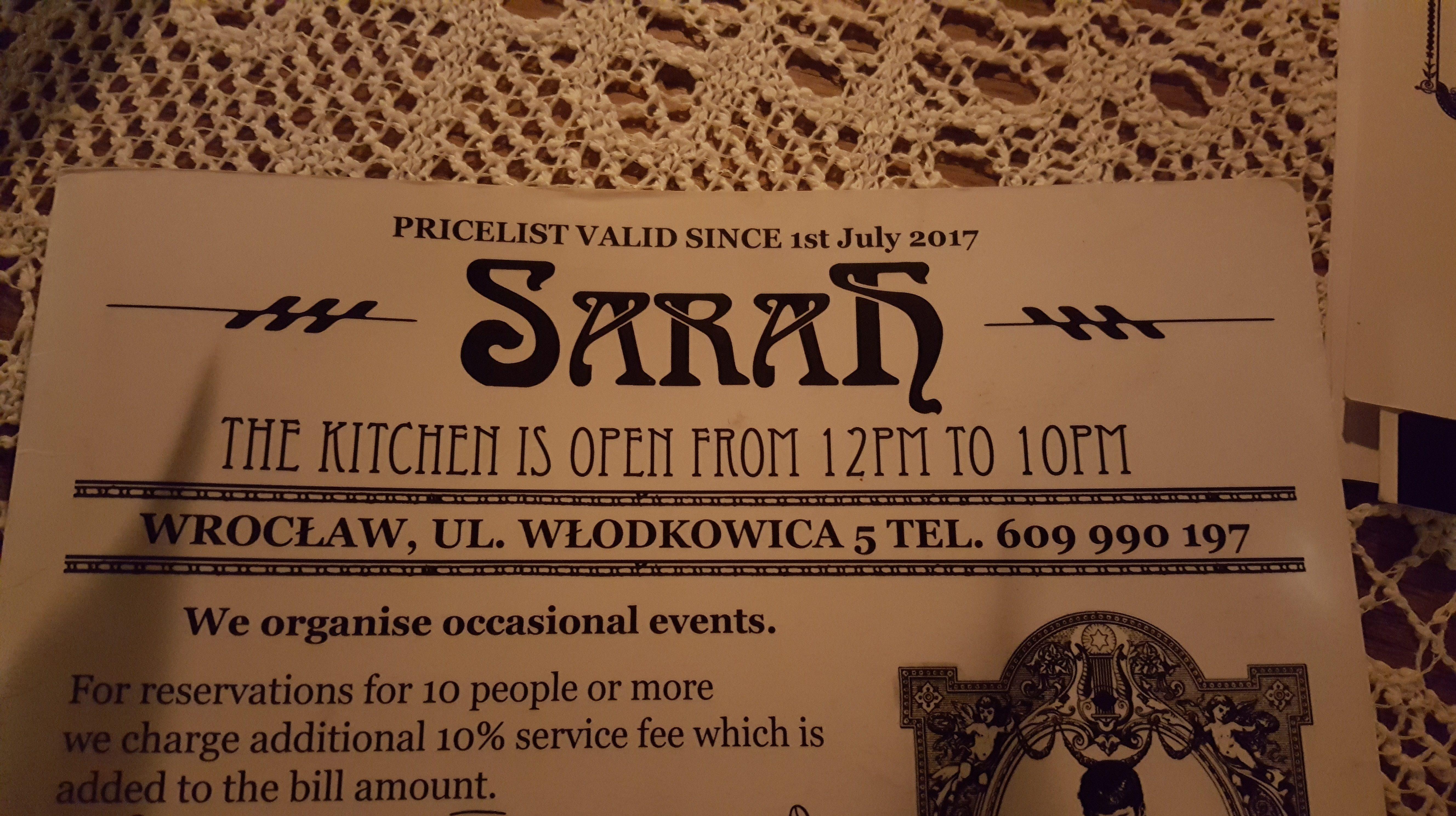 Sarah, Breslau, Polen