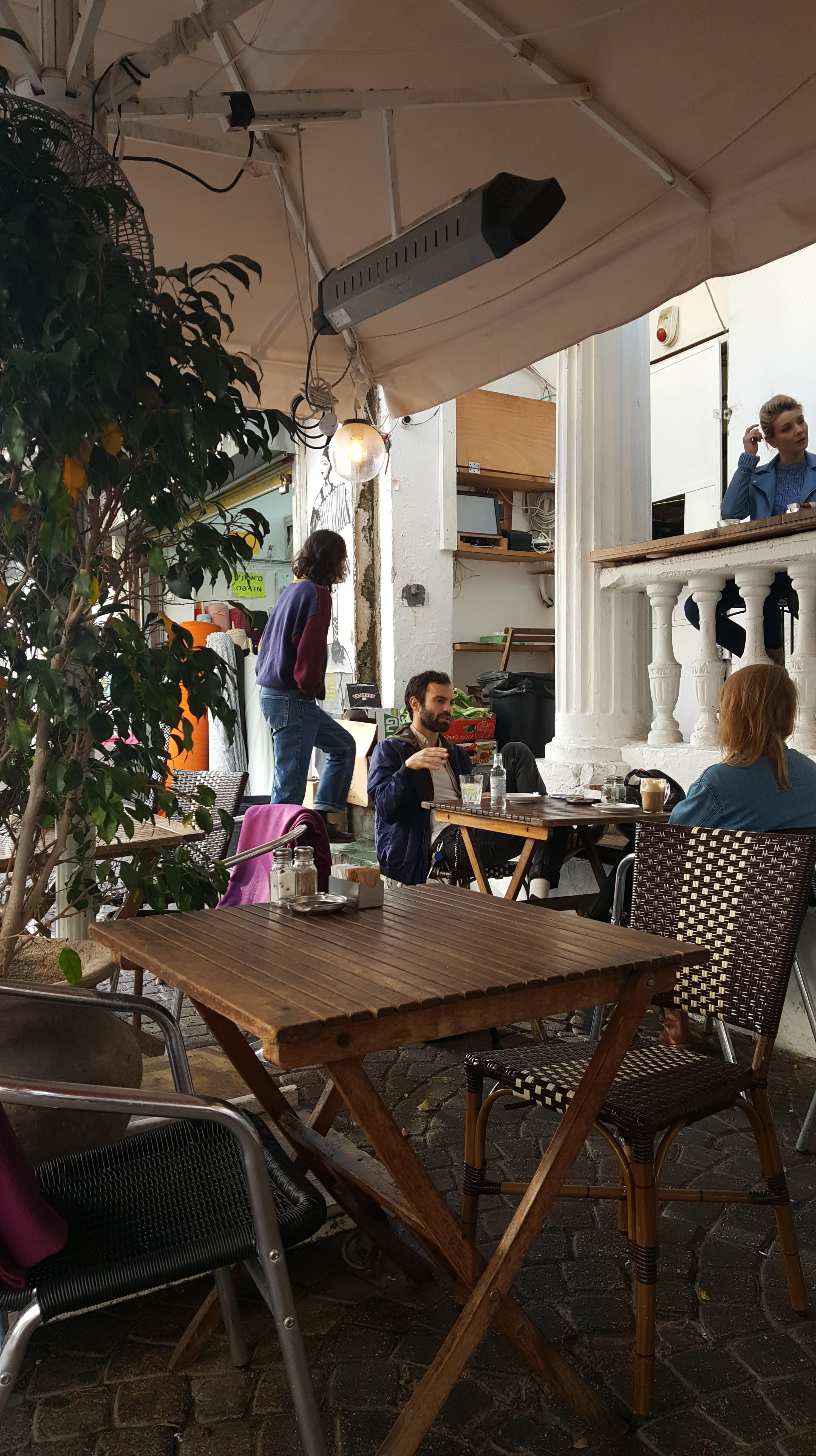 Beit Ha'Amudim, Tel Aviv, Berlin