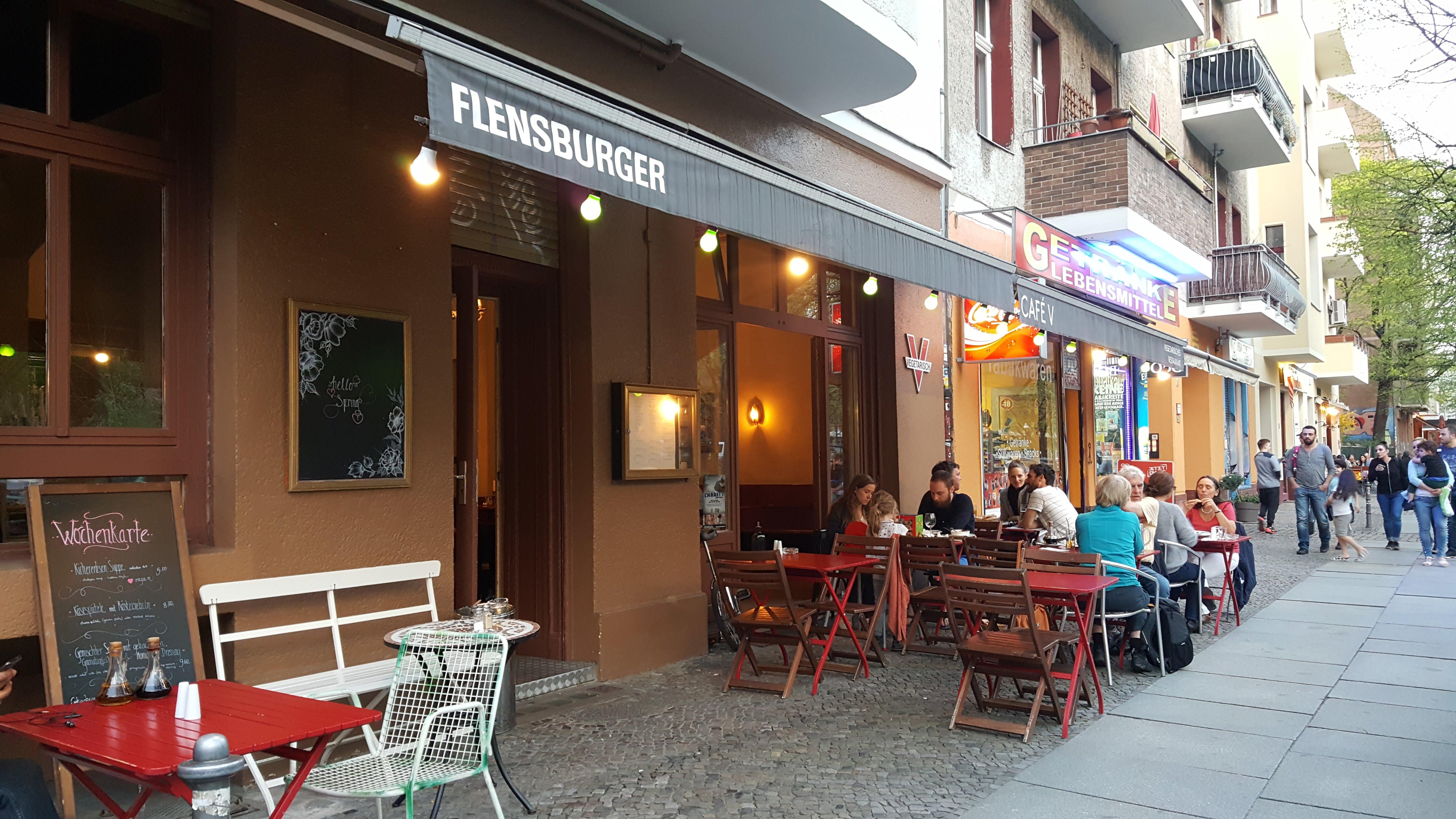Terrasse, Café V, Berlin