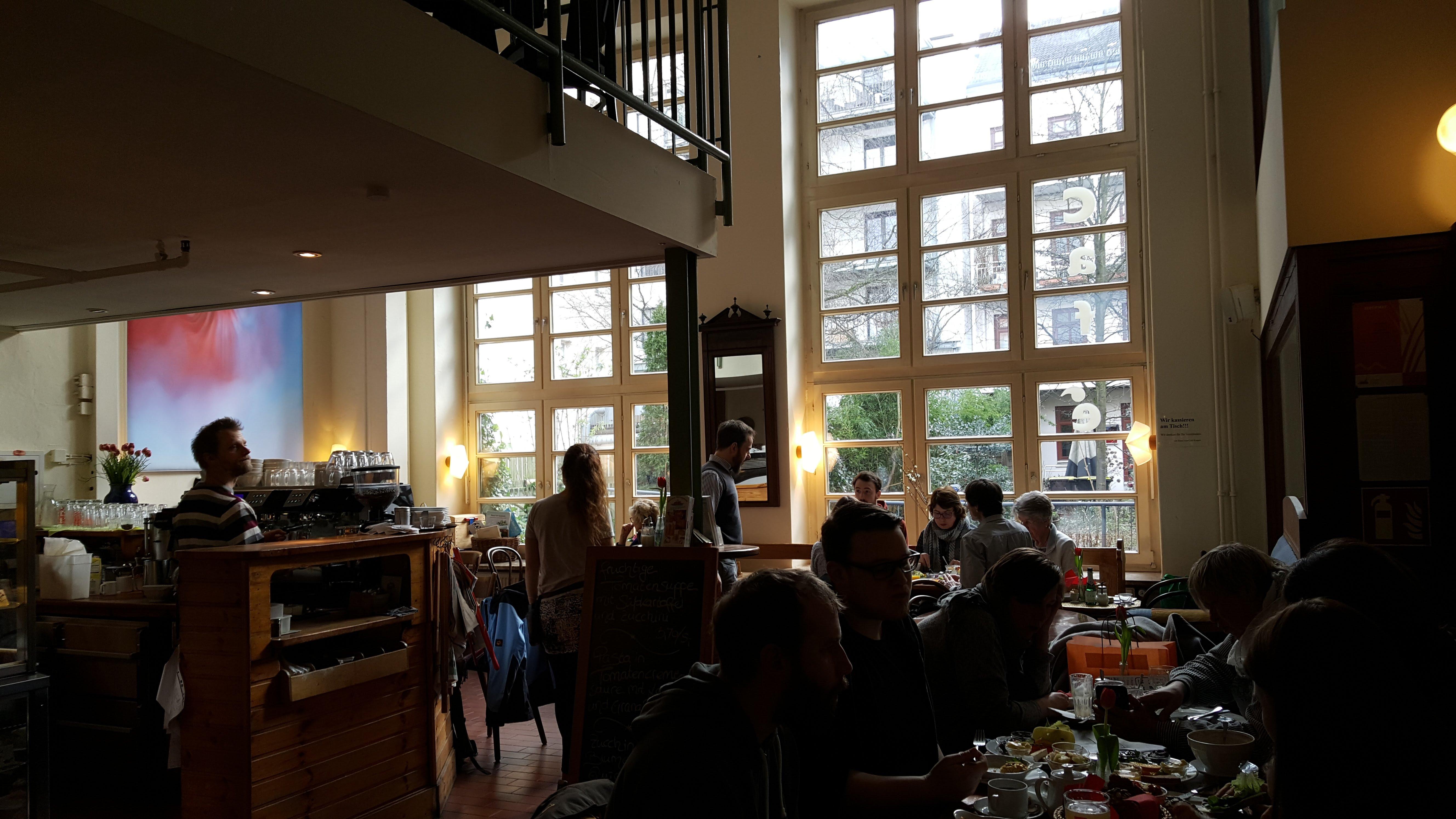 Innenansicht, Café Koppel, Hamburg