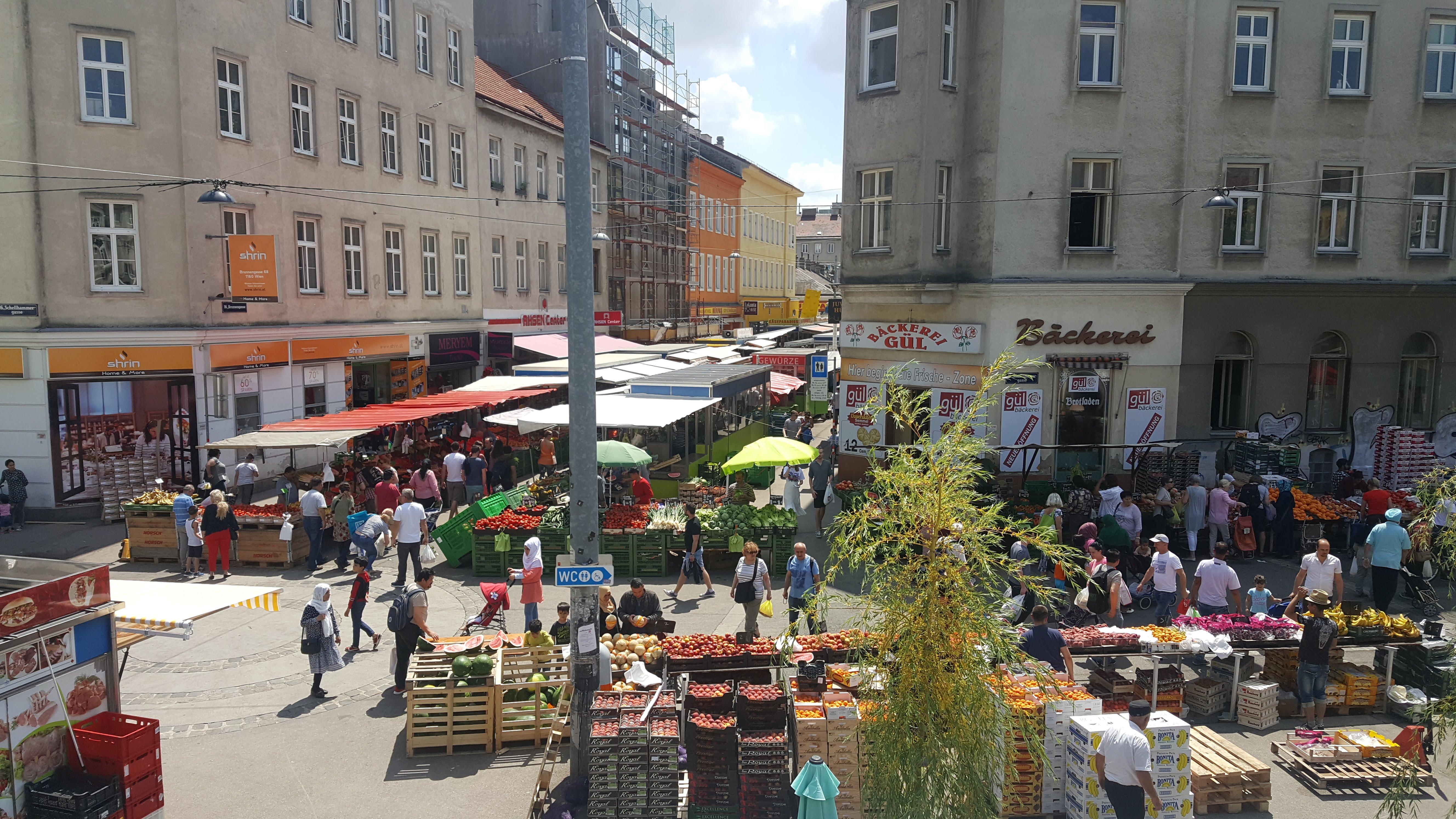 Blick von der Terrasse, Wirr, Wien