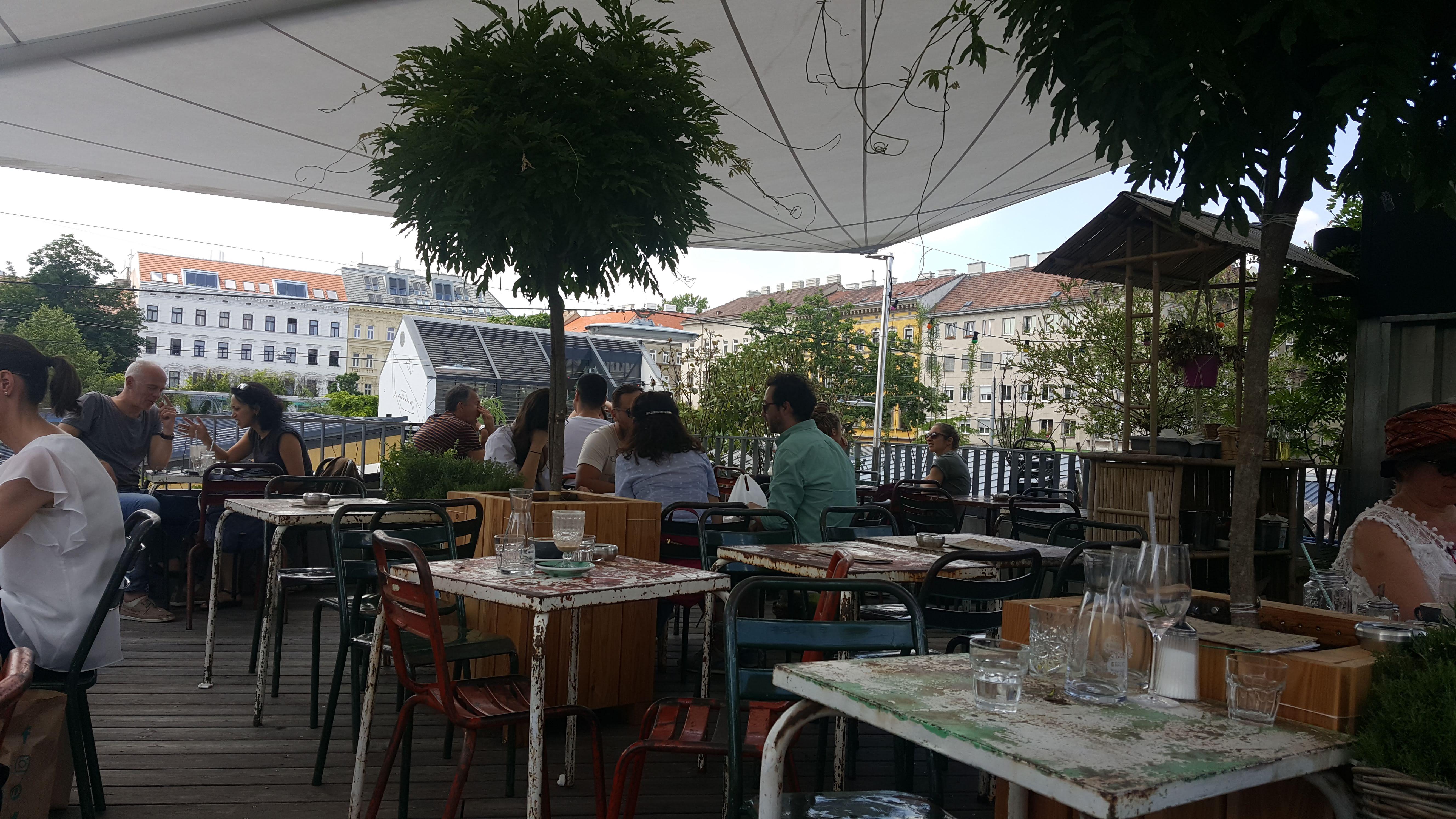 Dachterrasse, Wirr, Wien