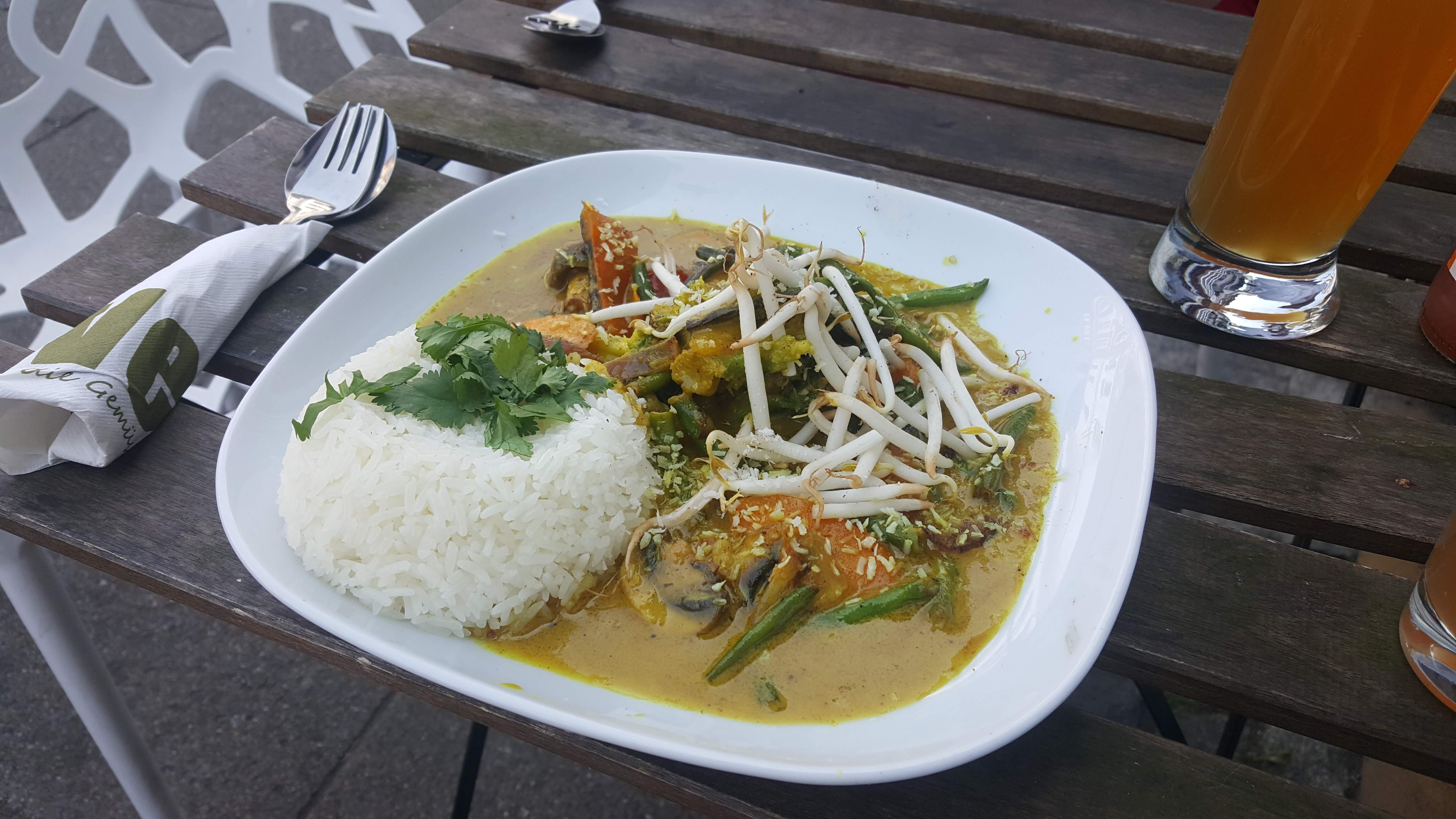 Asia Gemüse Curry, Vengo, Bremen