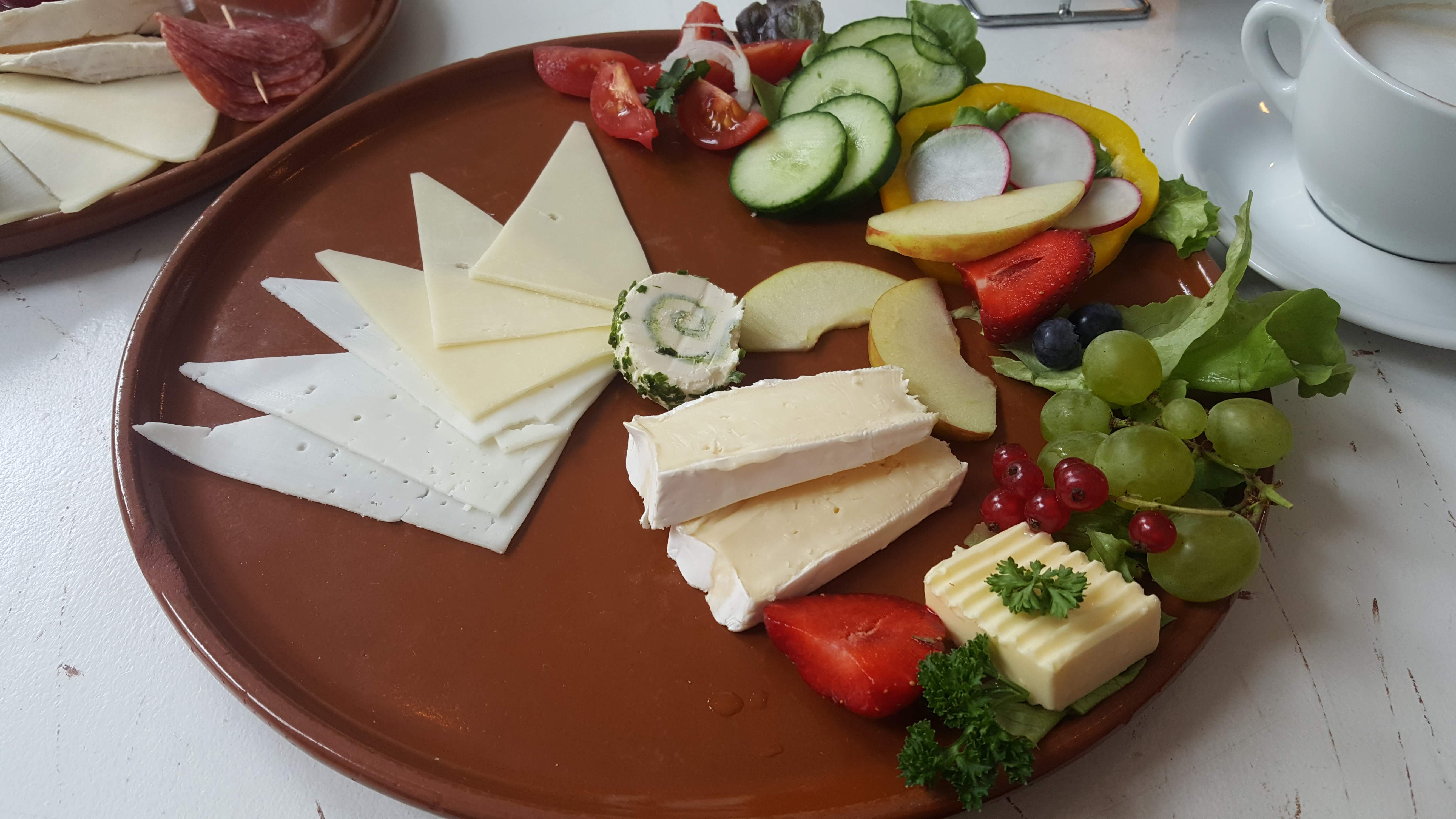 Käse-Frühstück, Cafe Frida, Bremen