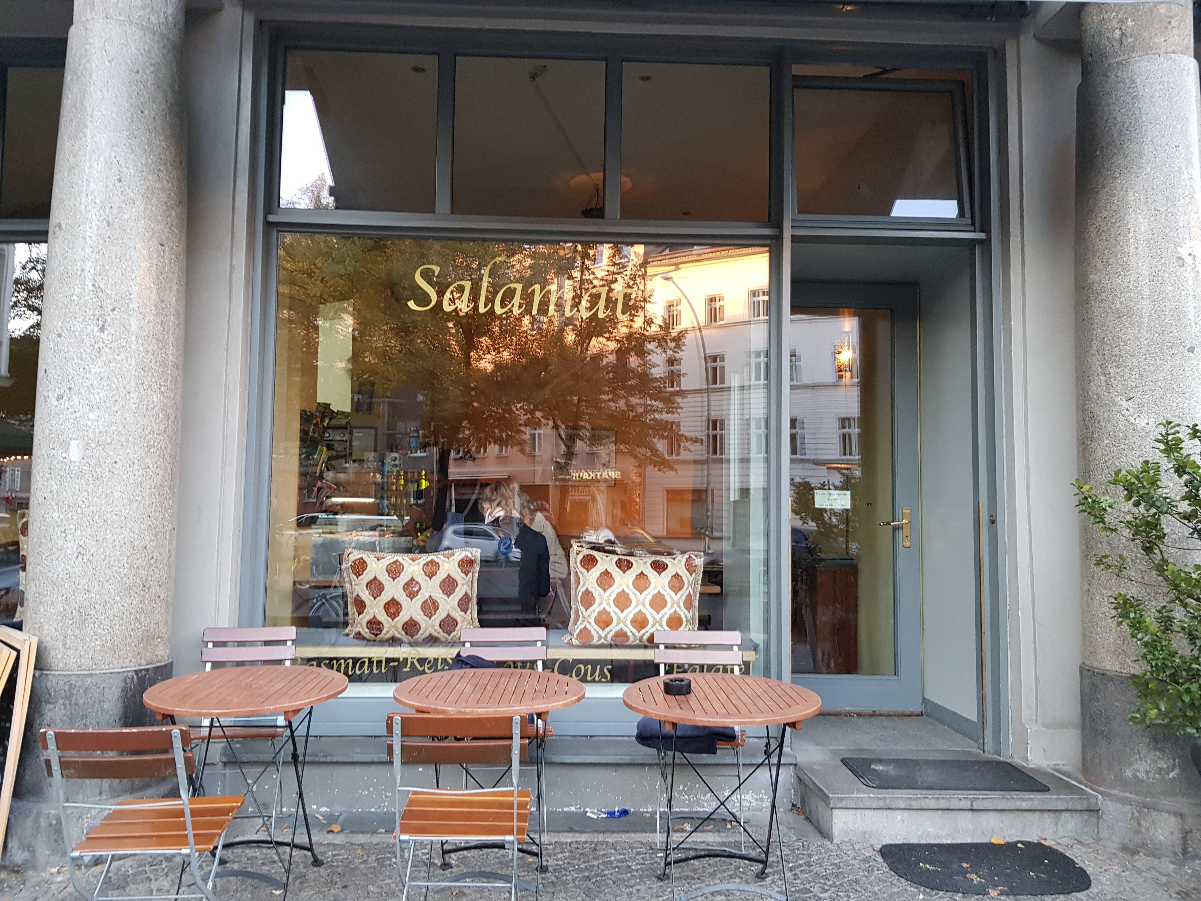 Außenansicht, Salamat, Berlin