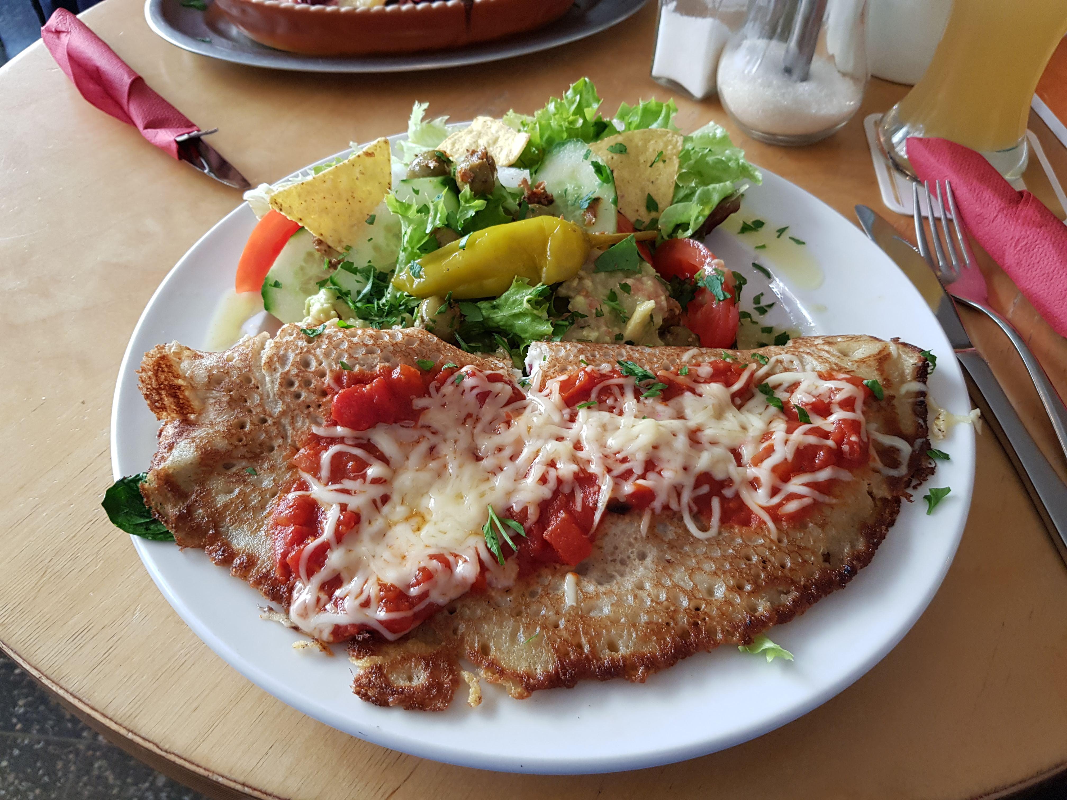 Buchweizenenchilada, Prütt, Münster
