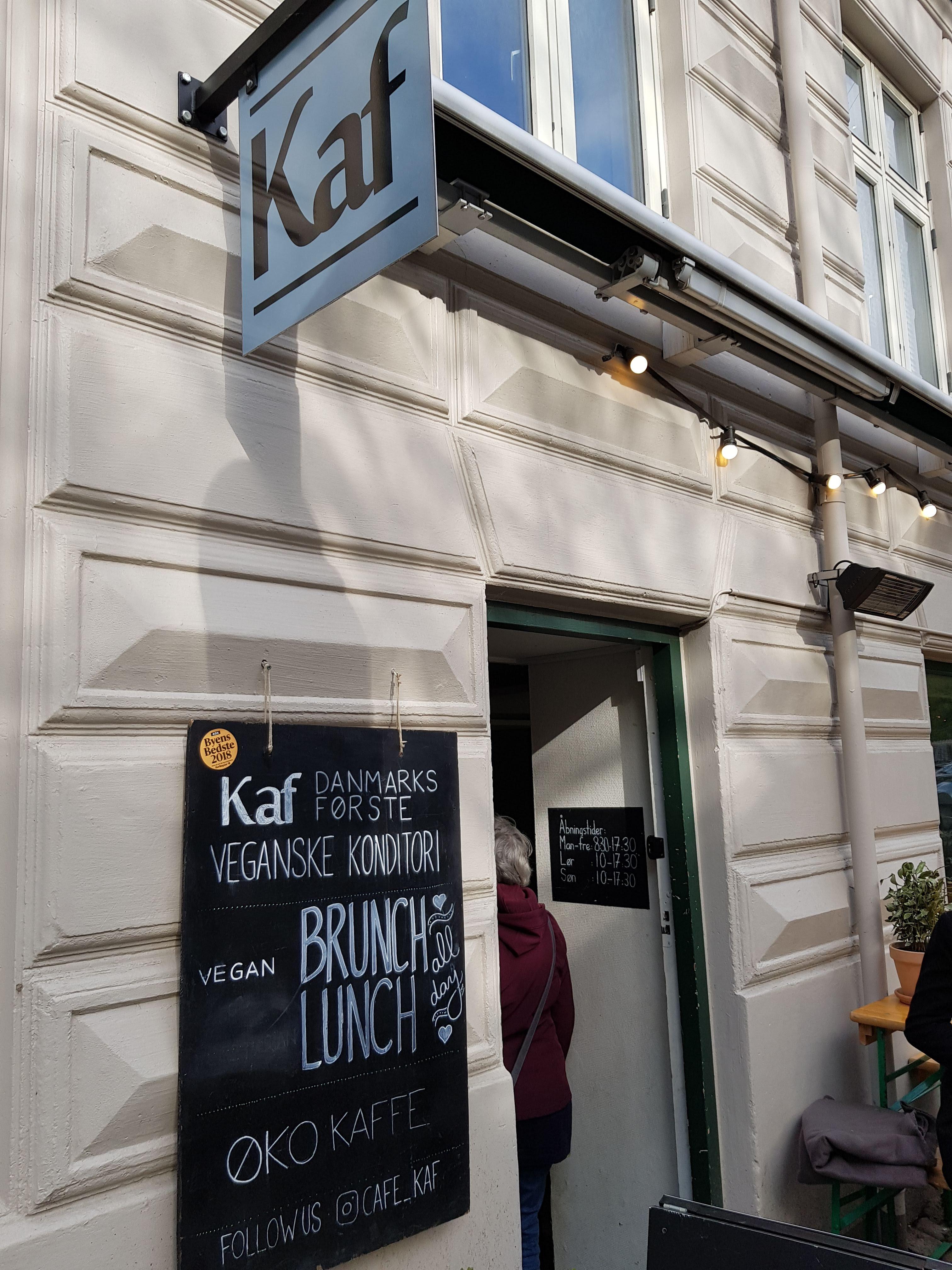 Kaf Cafe, Kopenhagen
