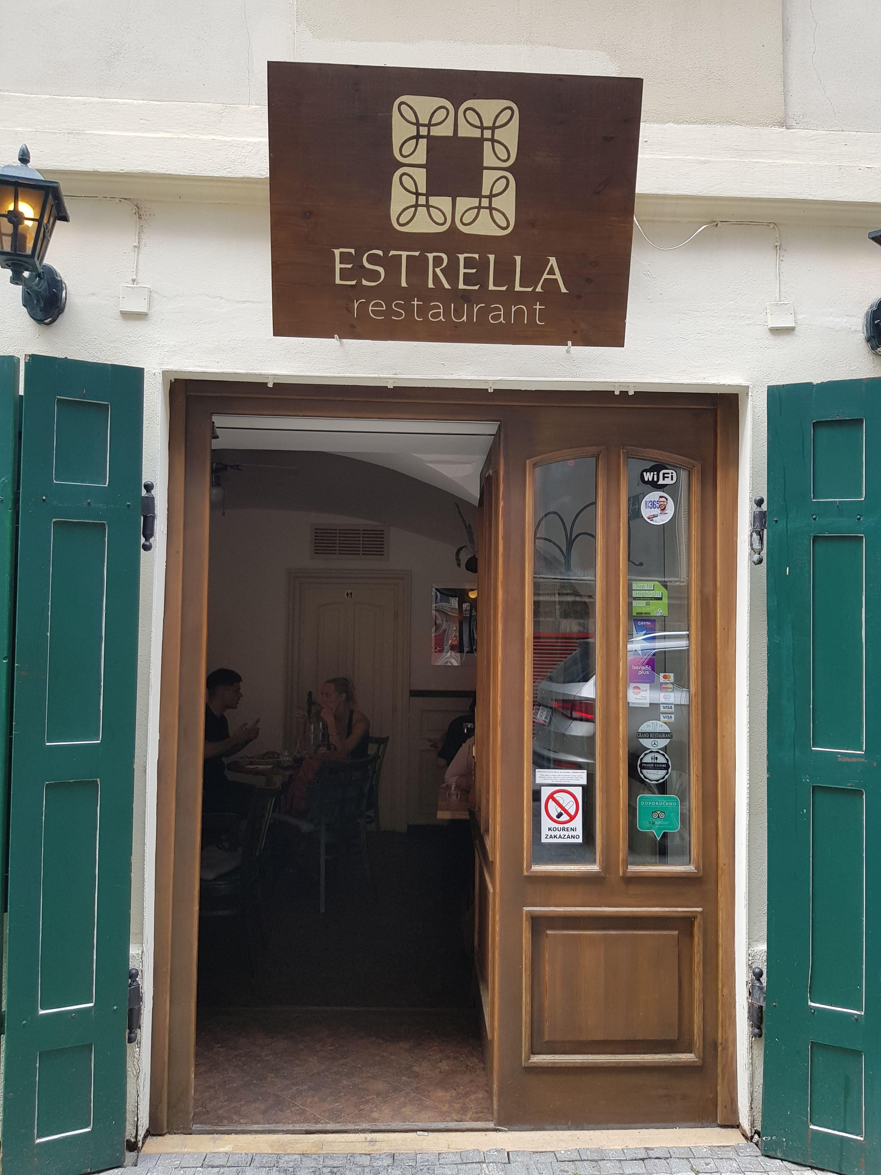 Estrella, Prag