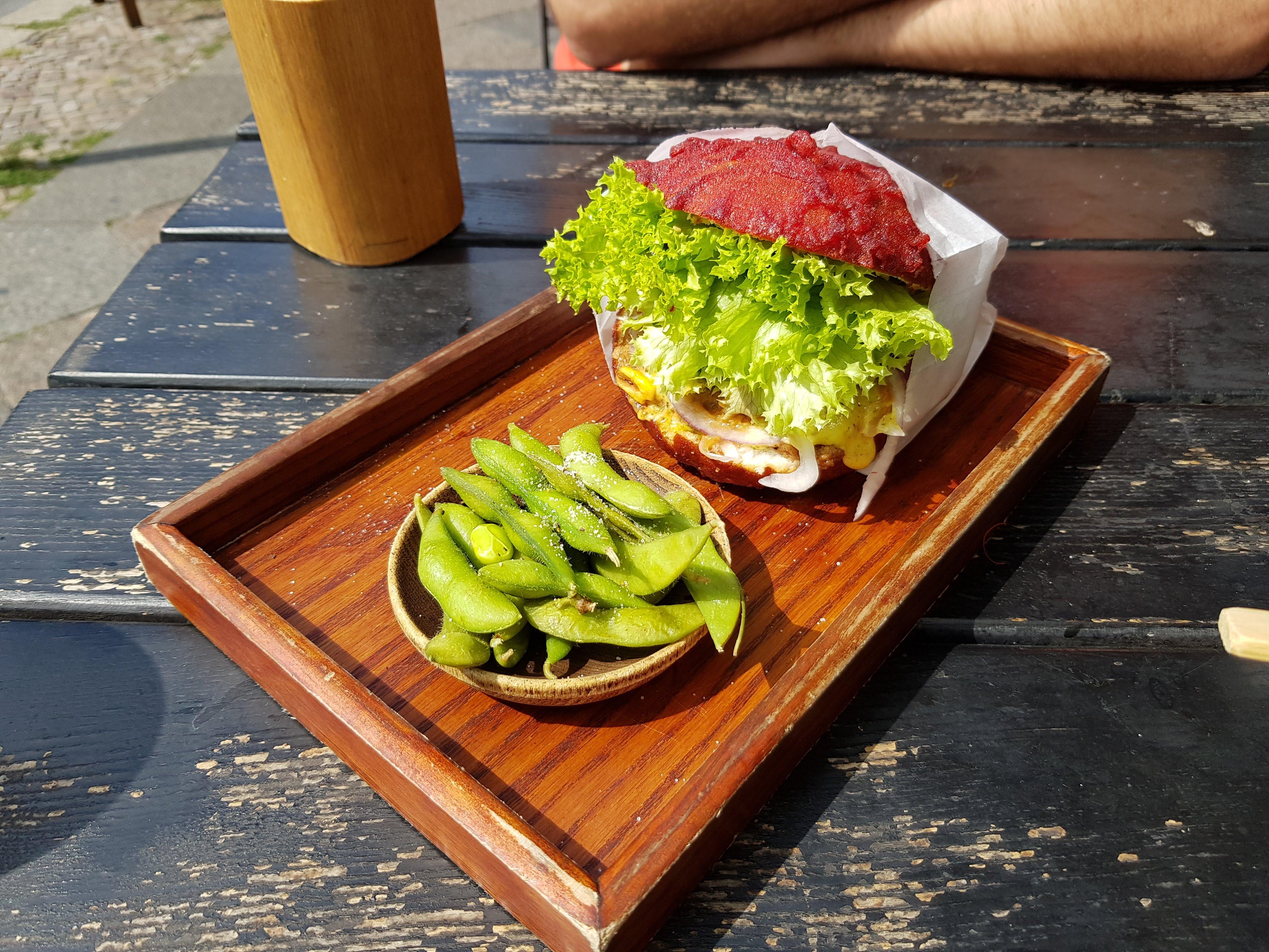 Late Summer Burger, Ryong, Berlin