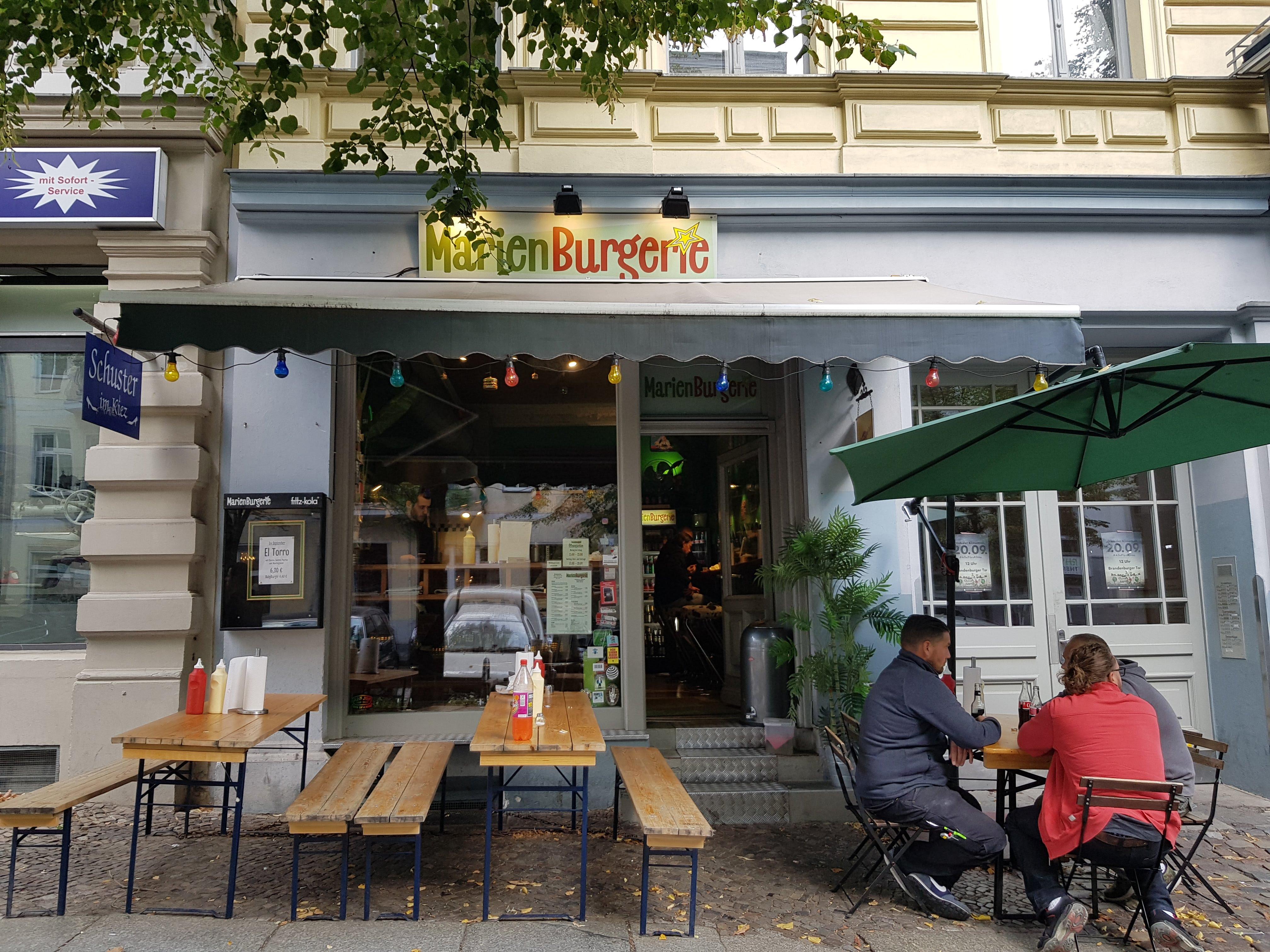 Außenansicht, Marienburgerie, Berlin