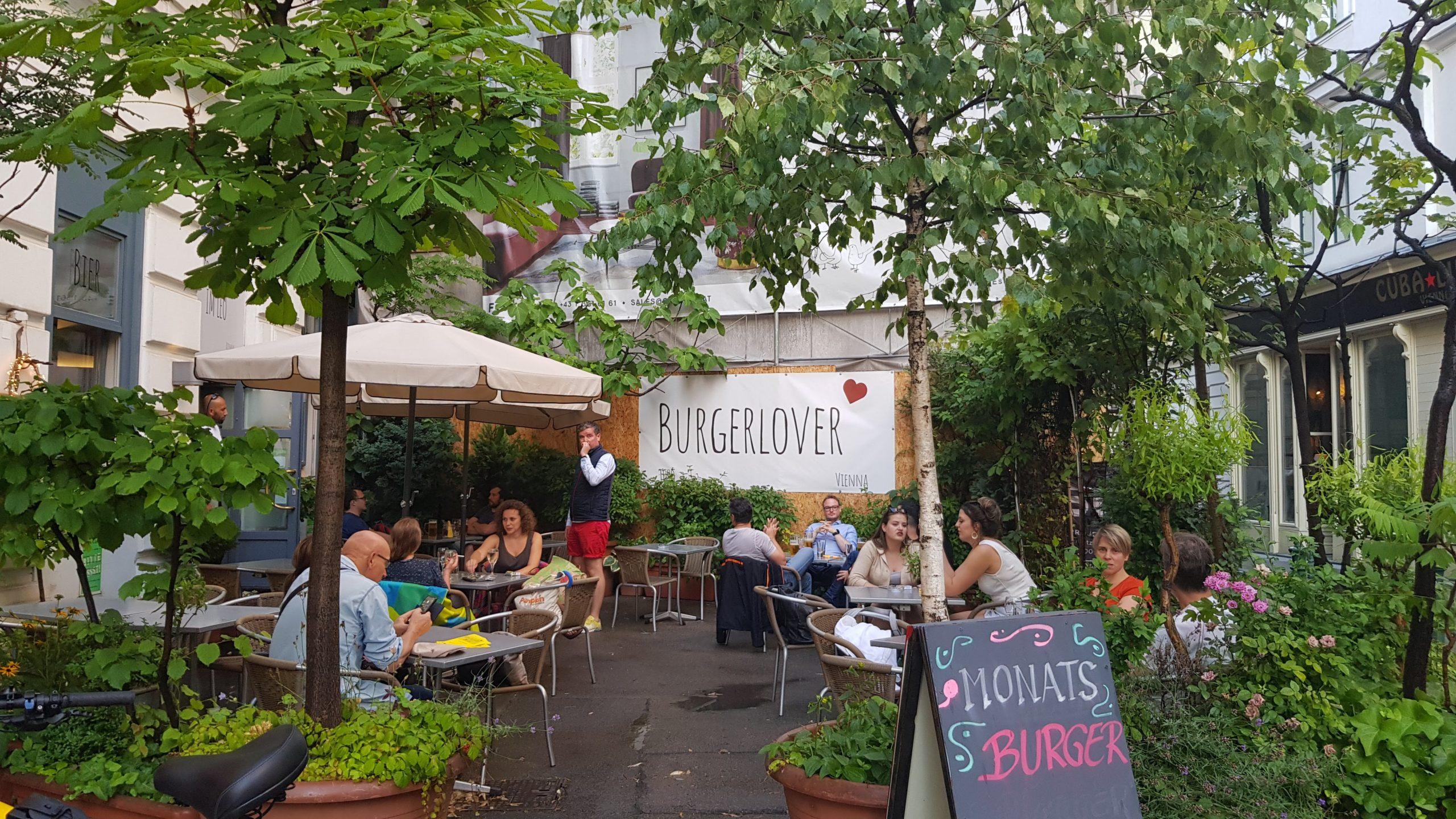 Außenansicht, Burgerlover, Wien